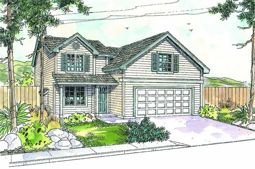 Main image for house plan # 13242