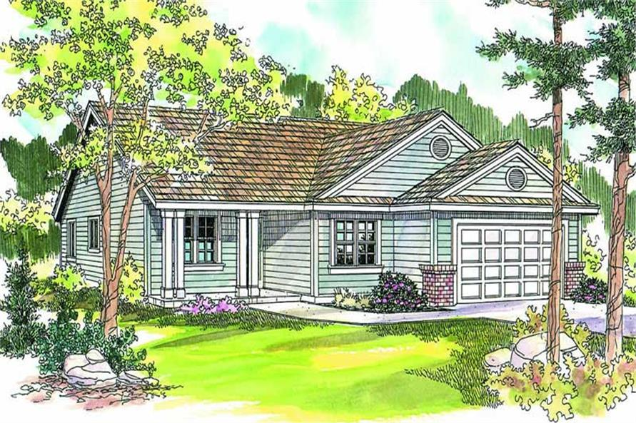 Main image for house plan # 13203