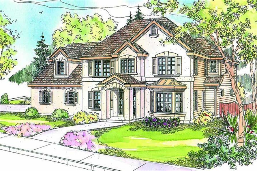 Main image for house plan # 13202