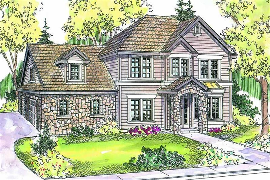 Main image for house plan # 13212