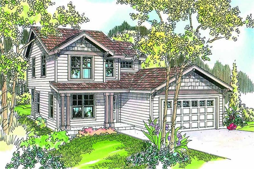Main image for house plan # 13213