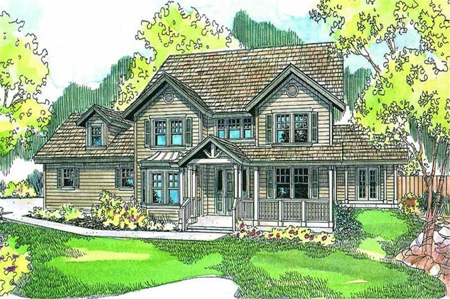 Main image for house plan # 13241