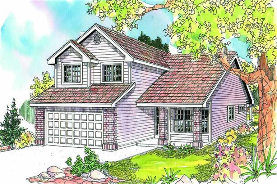 Main image for house plan # 13209