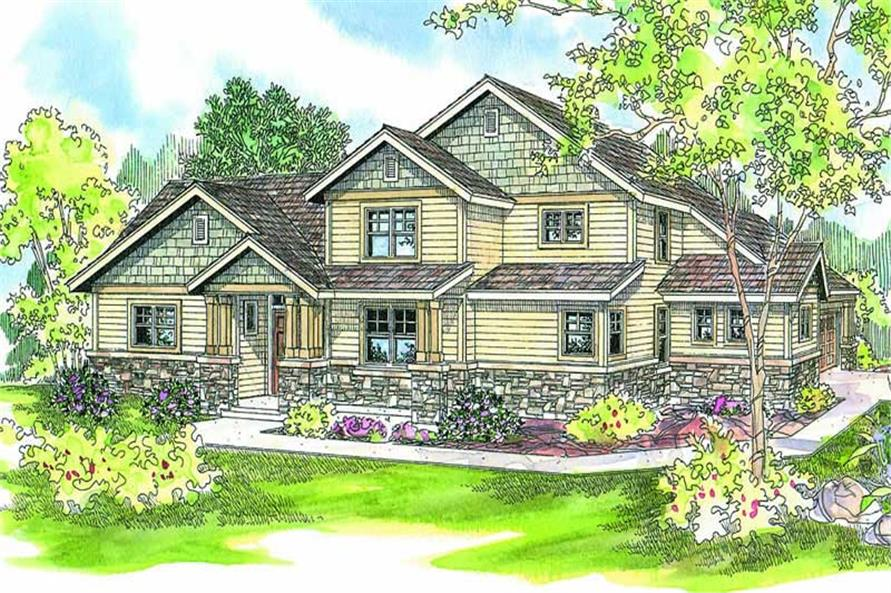 Main image for house plan # 13210