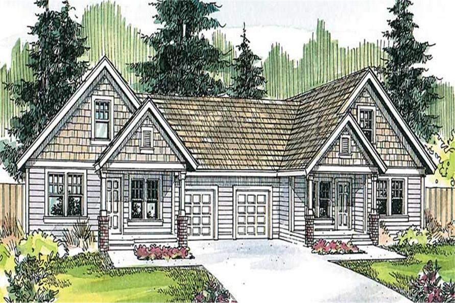 Main image for house plan # 13124