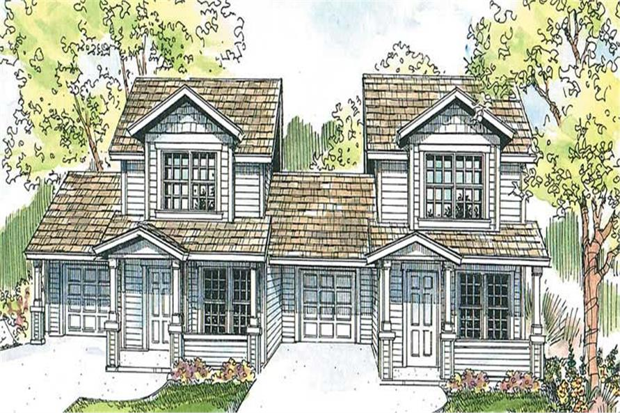 Main image for house plan # 13126