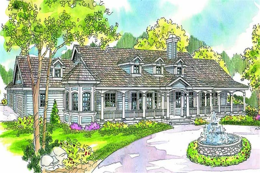 Main image for house plan # 13146