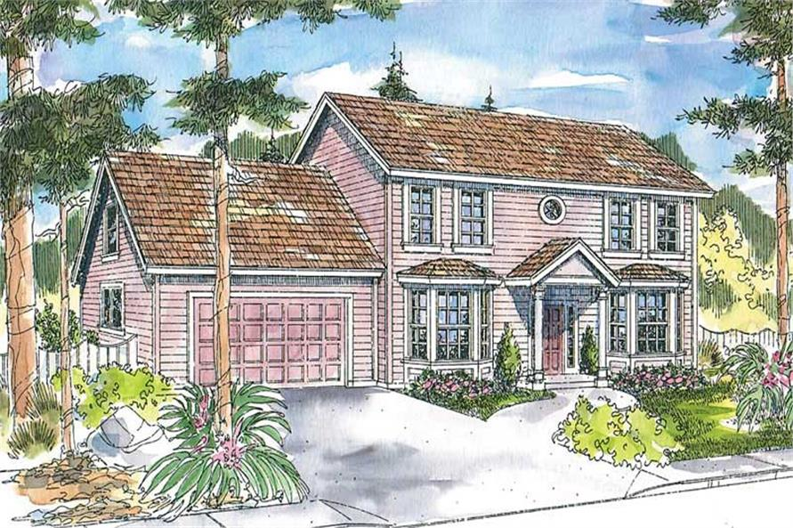 Main image for house plan # 13217