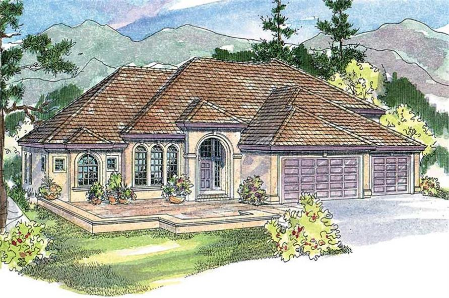 Main image for house plan # 13219