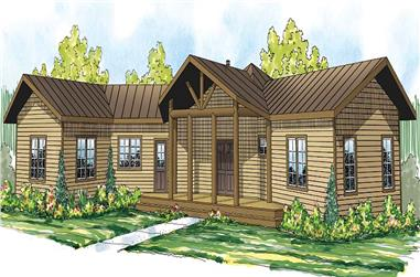 2-Bedroom, 1735 Sq Ft Vacation Homes Home - Plan #108-1706 - Main Exterior