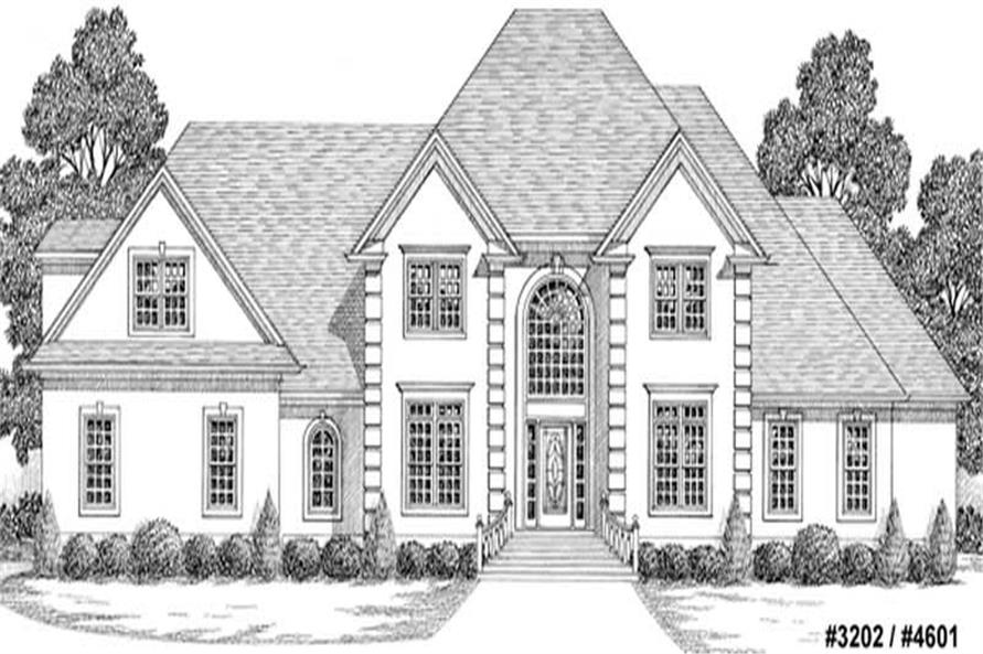Main image for house plan # 14504