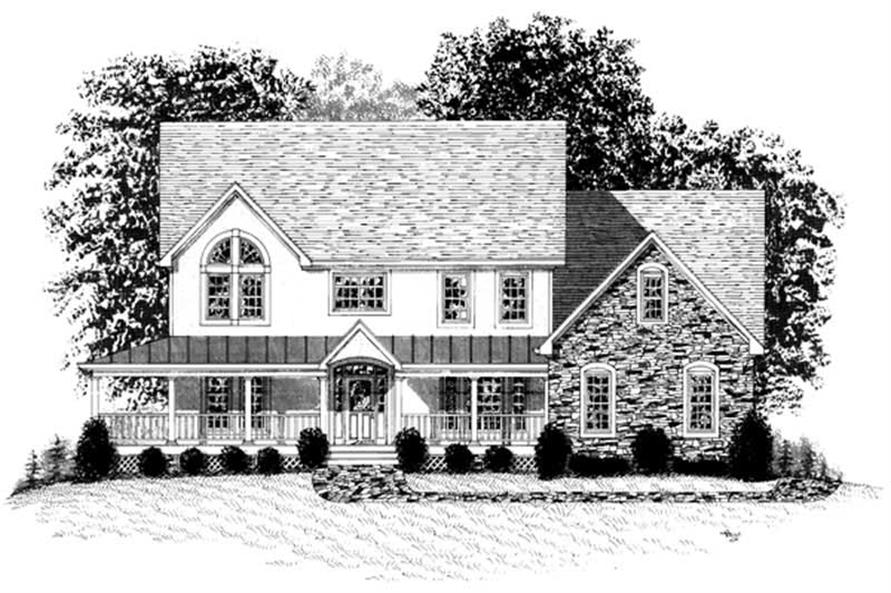 Main image for house plan # 14497