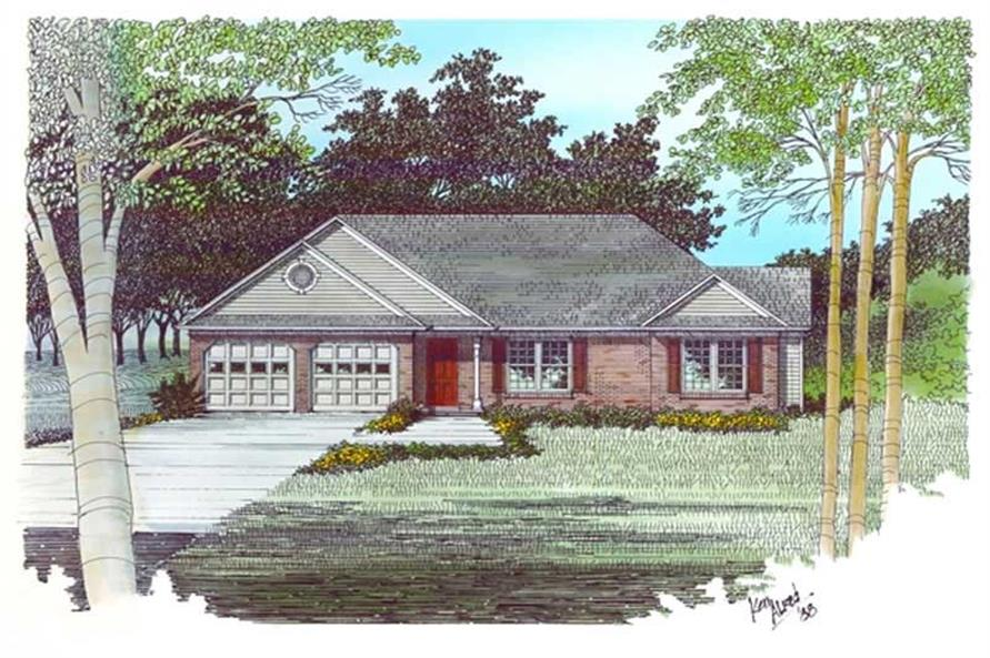 Main image for house plan # 14397