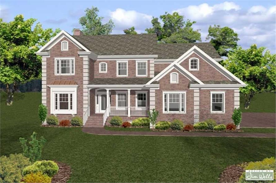 Main image for house plan # 14491