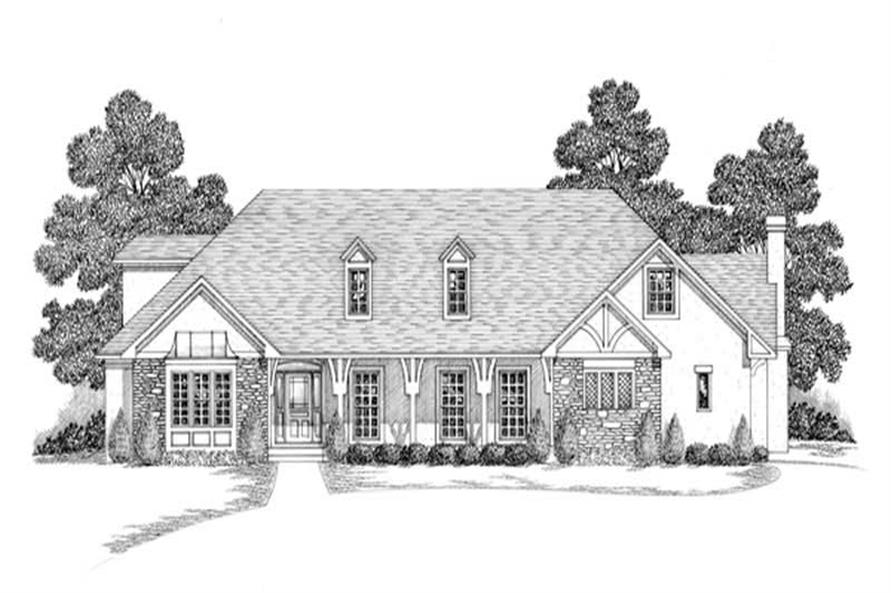 Main image for house plan # 14519