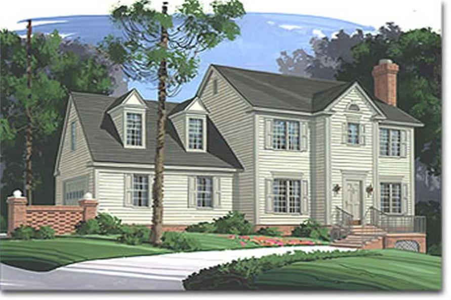 Main image for house plan # 14409