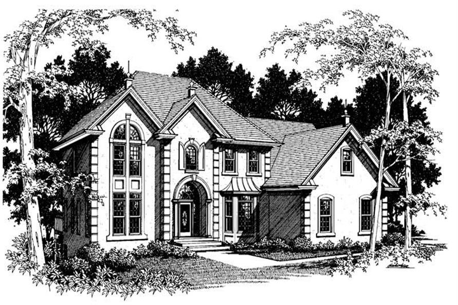 Main image for house plan # 14508
