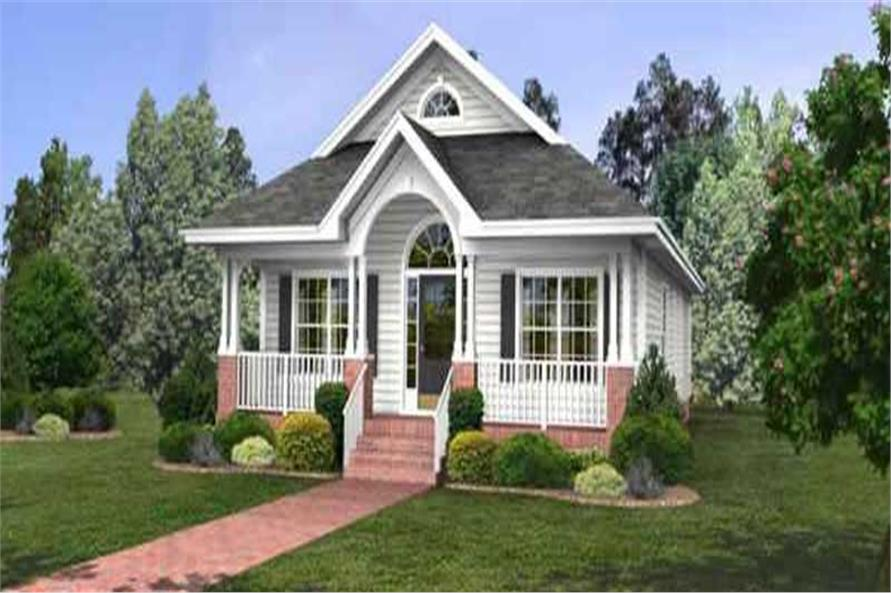Main image for house plan # 14390