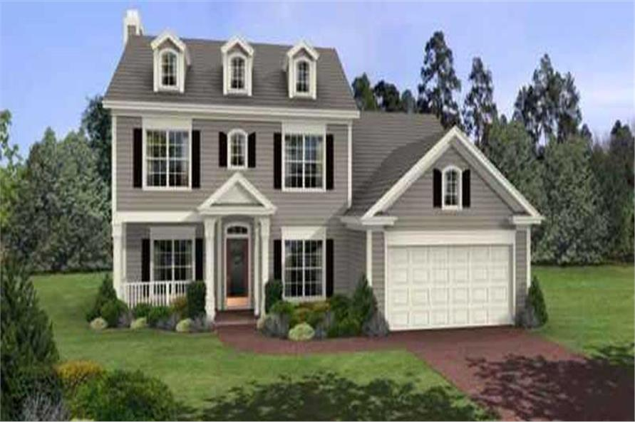 Main image for house plan # 14417