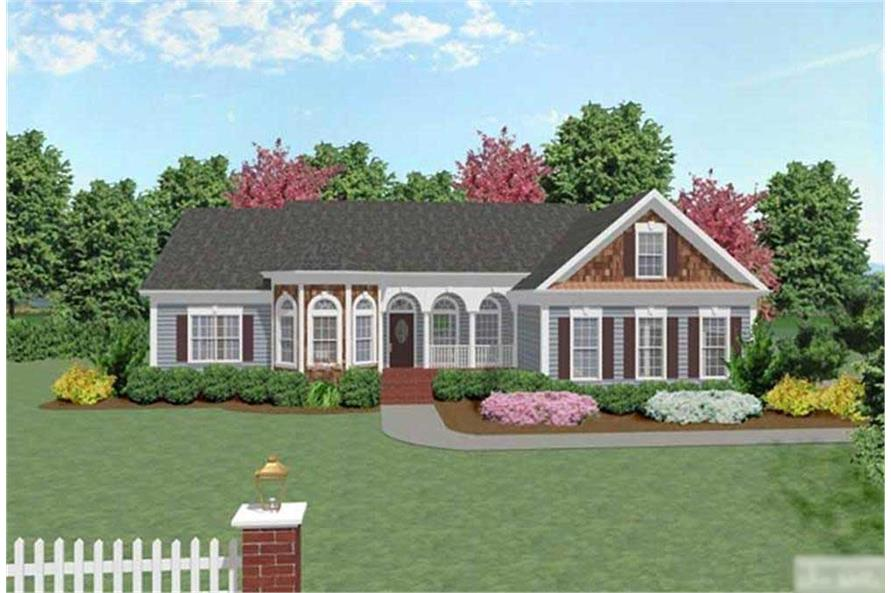 Main image for house plan # 14435