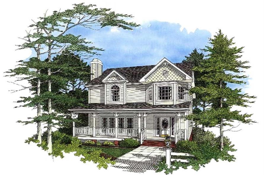 Main image for house plan # 14434