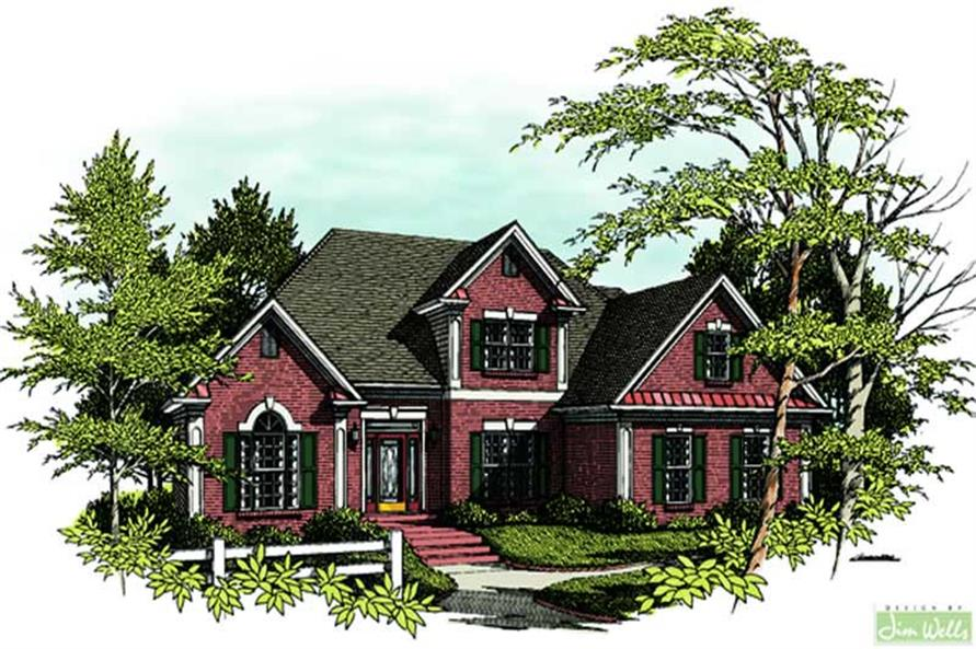 Main image for house plan # 14432