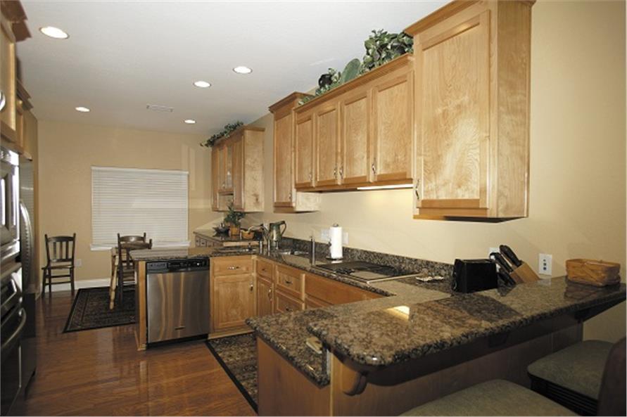 109-1086 house plan kitchen
