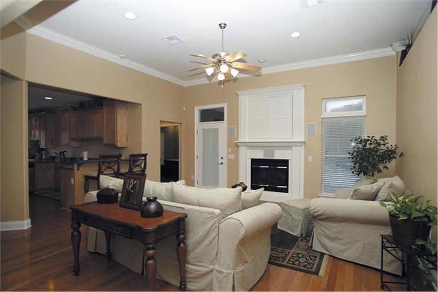 109-1086 house plan family room
