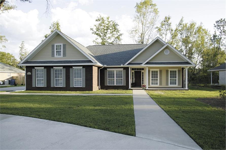 Main image for house plan # 14423