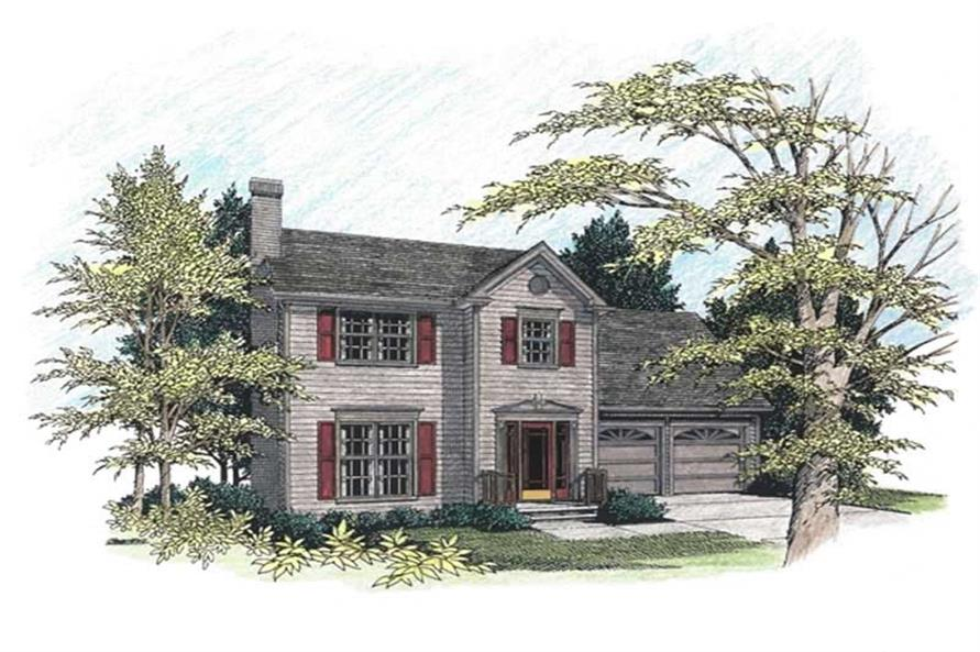 Main image for house plan # 14401