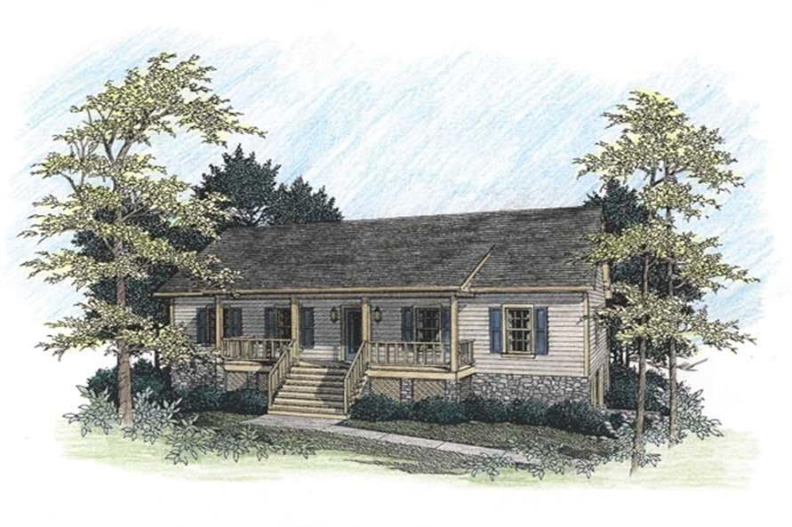 Main image for house plan # 14421