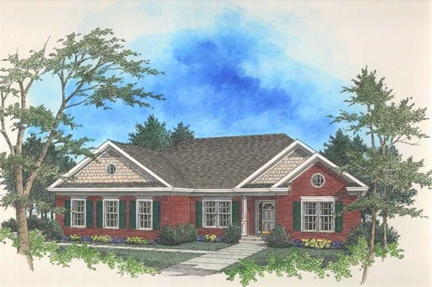 Main image for house plan # 14415