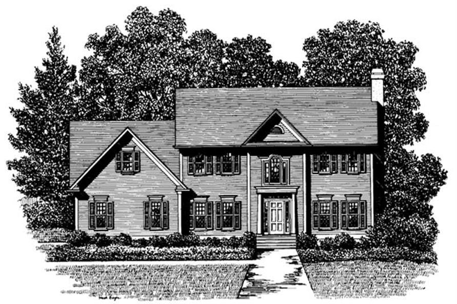 Main image for house plan # 14429