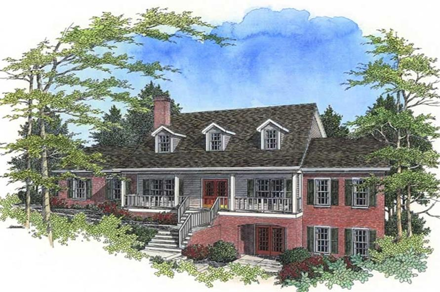 Main image for house plan # 14473