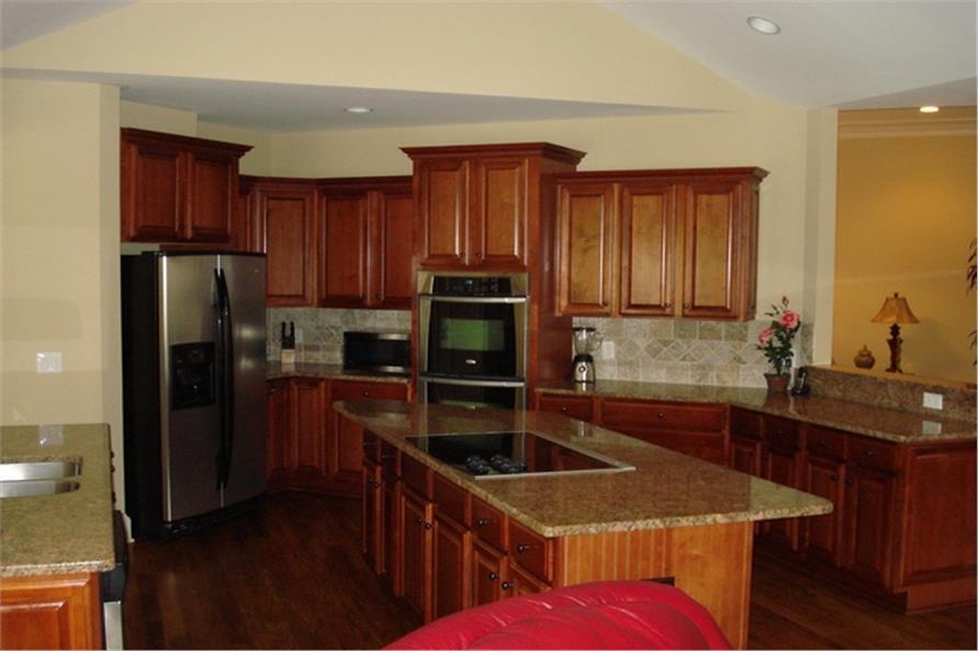 109-1103 house plan kitchen