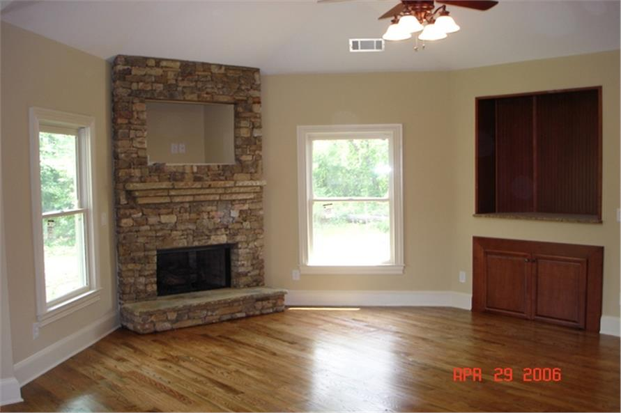 109-1103 house plan great room