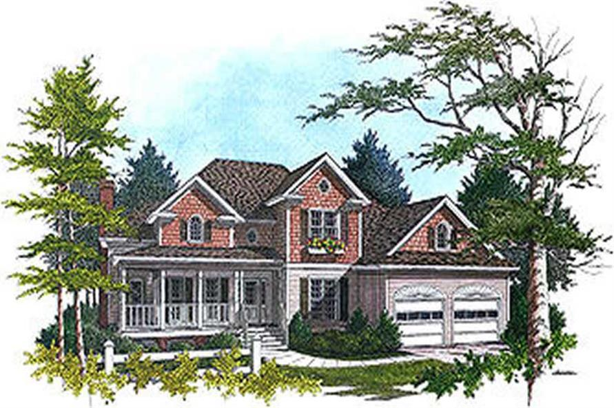 Main image for house plan # 14479