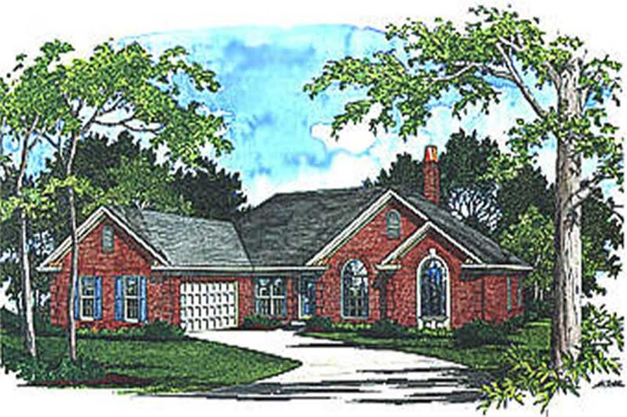 Main image for house plan # 14470