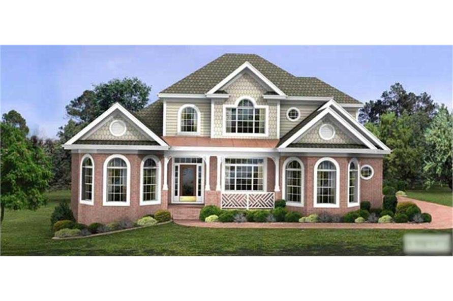 Main image for house plan # 14466