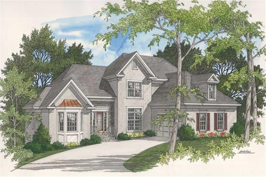 Main image for house plan # 14461