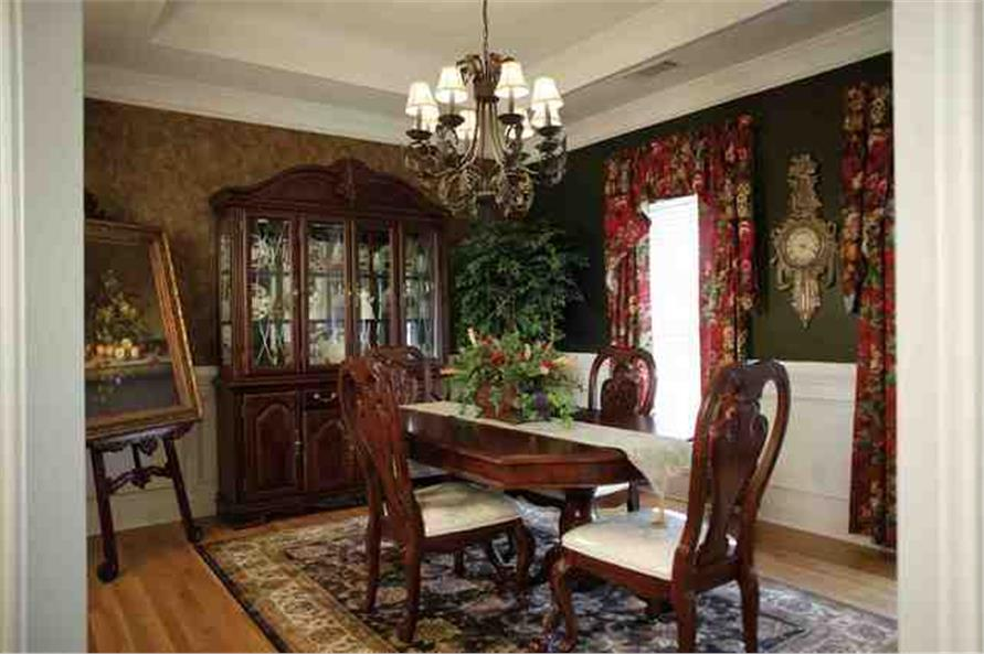 109-1112 house plan dining room