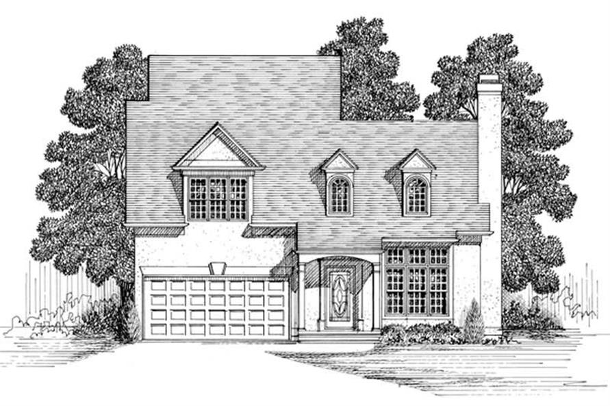 Main image for house plan # 14402