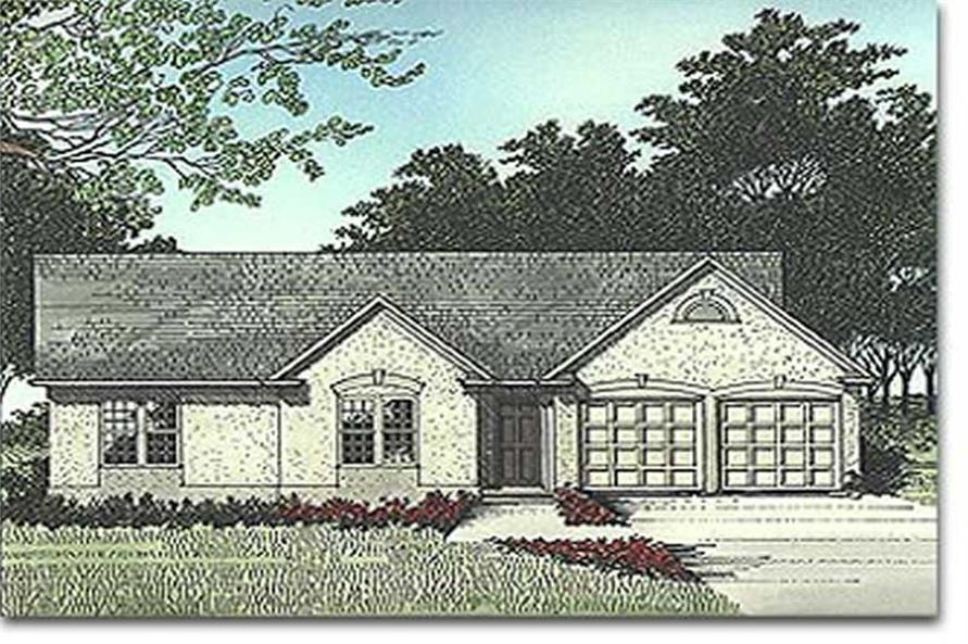 Main image for house plan # 14392