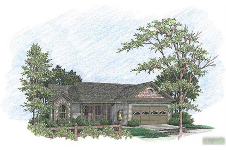 Main image for house plan # 14396