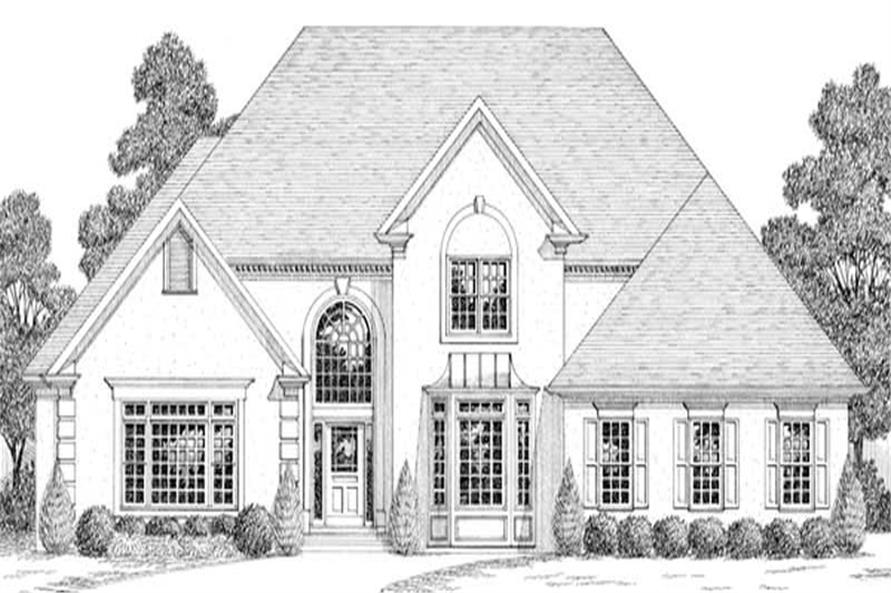 Main image for house plan # 14510