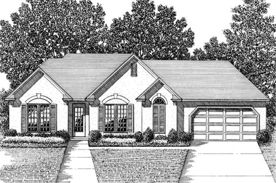 Main image for house plan # 14394