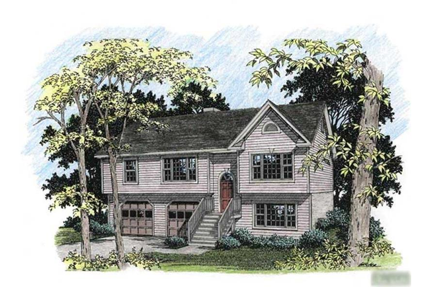 Main image for house plan # 14404