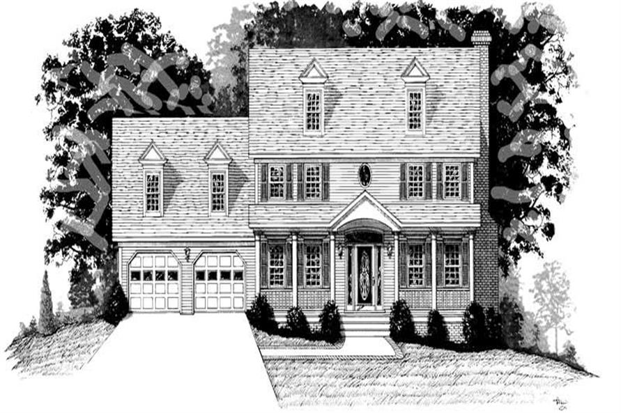 Main image for house plan # 14430