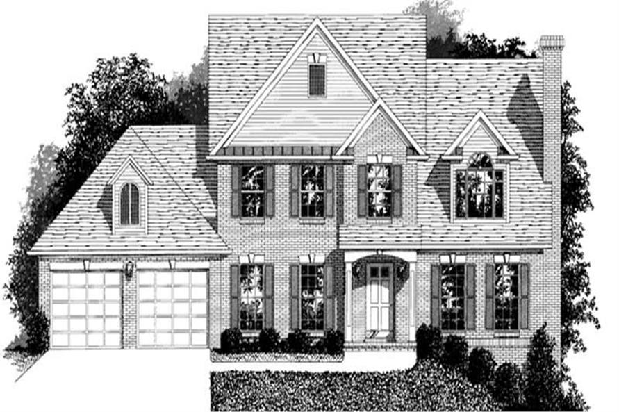 Main image for house plan # 14431