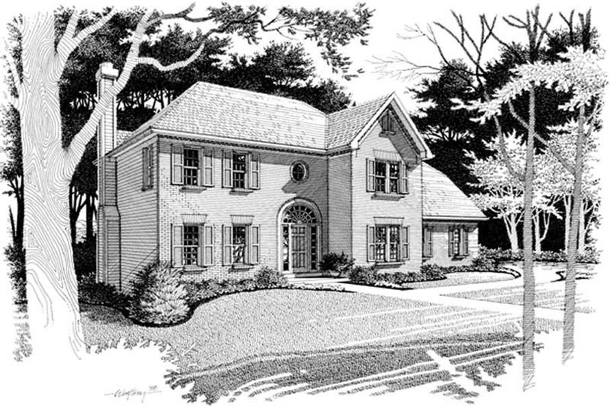 Main image for house plan # 14439